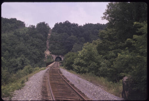 1974 - Just N of the Pinkerton High Bridge and Tunnel  - 02