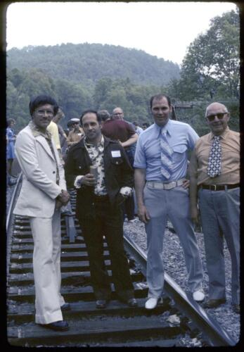 1975 May 21 - Crossing High Bridge @ Ohiopyle 022 (1)