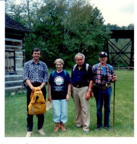 1990 RTC original trail assessment-far left Jack Paulik, Hugi K