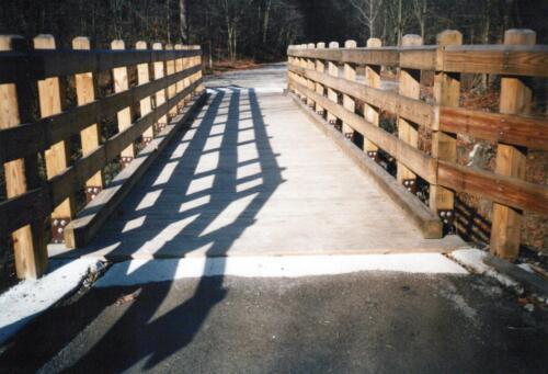 1993 December Cedar Creek Gorge Bridge Post Const 0004 a (1)
