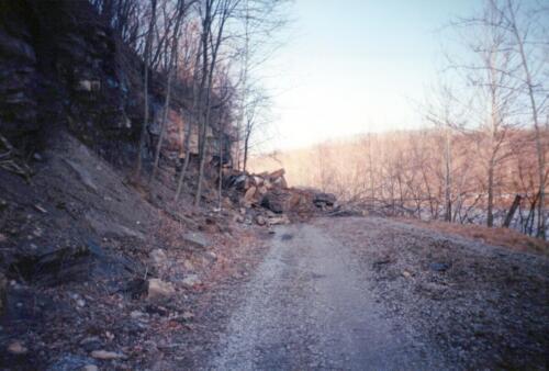 1993 March Connellsville River Park WT Rockslides 0001 a