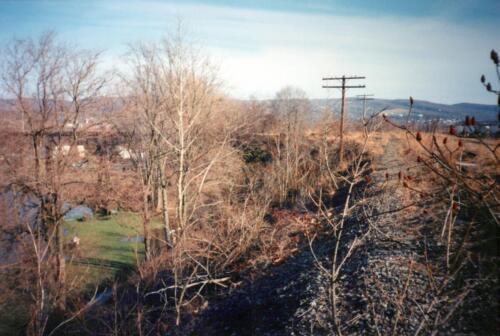 1993 March Connellsville River Park WT Rockslides 0006 a