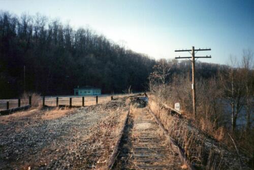 1993 March Connellsville River Park WT Rockslides 0009 a