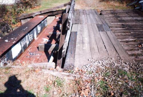 1993 November pre-const Industry Jennings Run Bridge 0005 a