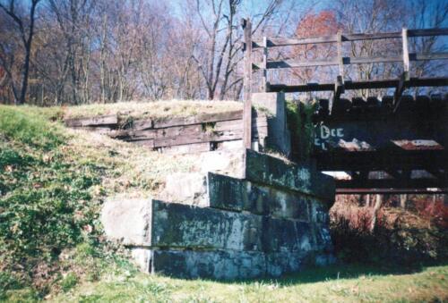 1993 November pre-const Industry Jennings Run Bridge 0007 a