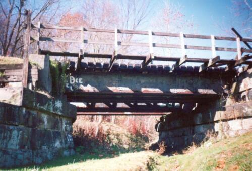 1993 November pre-const Industry Jennings Run Bridge 0008 a