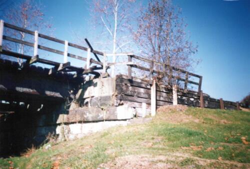1993 November pre-const Industry Jennings Run Bridge 0009 a