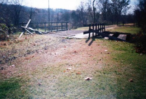 1993 November pre-const Industry Jennings Run Bridge 0014 a