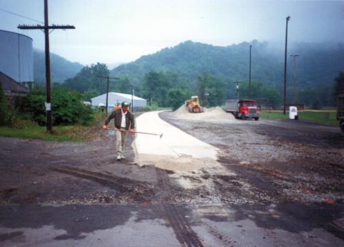 1994 August Boston Limestone Paving 0005 a