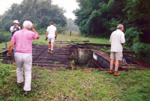1994 July Industry Jennings Run Bridge Volunteers 0001 a