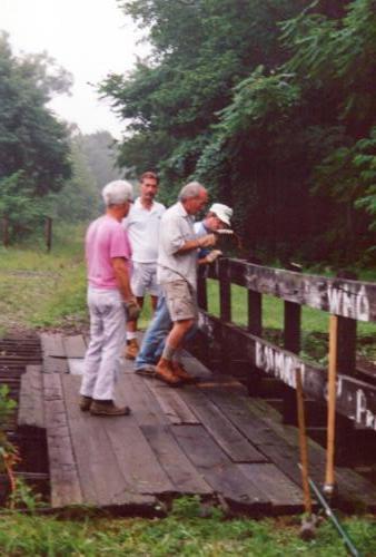 1994 July Industry Jennings Run Bridge Volunteers 0002 a