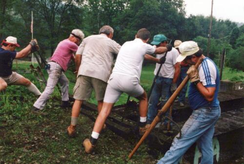 1994 July Industry Jennings Run Bridge Volunteers 0005 a (1)