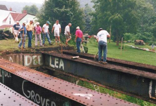 1994 July Industry Jennings Run Bridge Volunteers 0006 a (1)