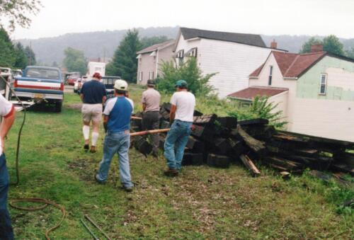 1994 July Industry Jennings Run Bridge Volunteers 0007 a