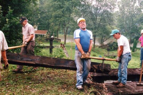 1994 July Industry Jennings Run Bridge Volunteers 0008 a (1)