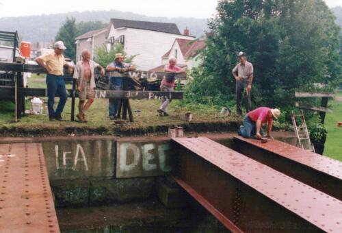 1994 July Industry Jennings Run Bridge Volunteers 0009 a (1)