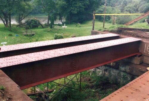 1994 July Industry Jennings Run Bridge Volunteers 0010 a