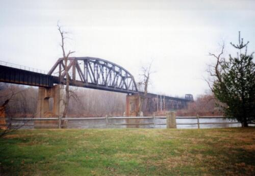 1995 Connellsville WT and Viaduct Demo  0002 a