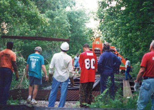 1997 July Browneller Bridge Volunteer Const 2 0031 a