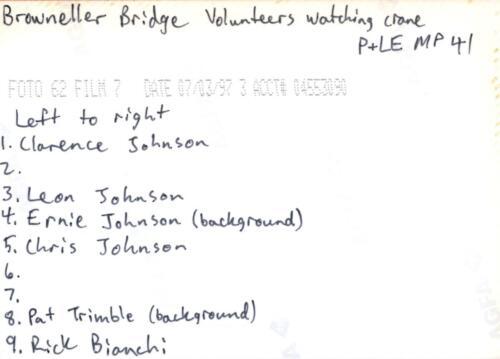 1997 July Browneller Bridge Volunteer Const 2 0031 b