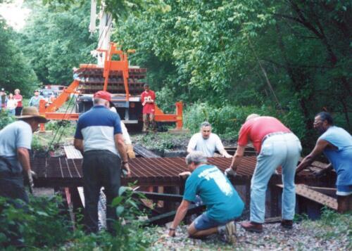 1997 July Browneller Bridge Volunteer Const 2 0033 a
