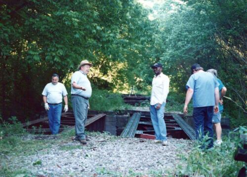 1997 July Browneller Bridge Volunteer Const 2 0036 a
