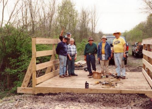 1998 April Campbells Run Bridge Volunteer Const 0001 a