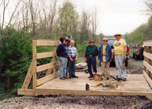 1998 Campbells Run Bridge Volunteer Const 0004 a