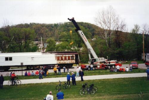 1998 Spring Railcar West Newton Moving Day 0011 a