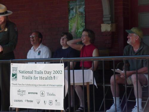 Meyersdale Station National Trail Day 2002