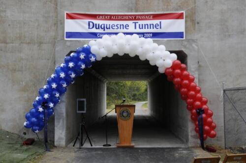 Duquesne Underpass Dedication October 2009