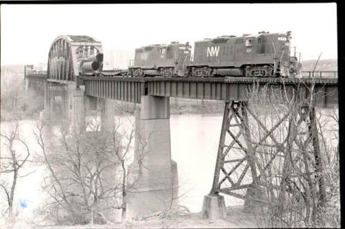 Connellsville train bridge
