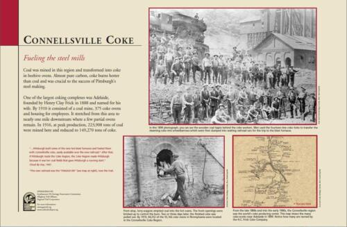 GAP Interpretive Sign ConnellsvilleCoke