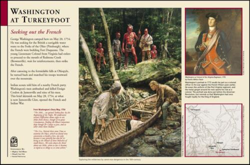 GAP Interpretive Sign WashingtonTurkeyfoot