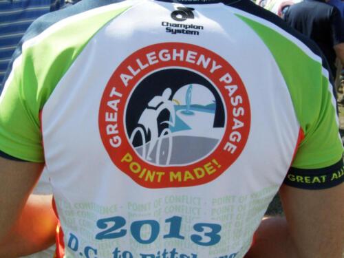 GAP rider shirt back close up