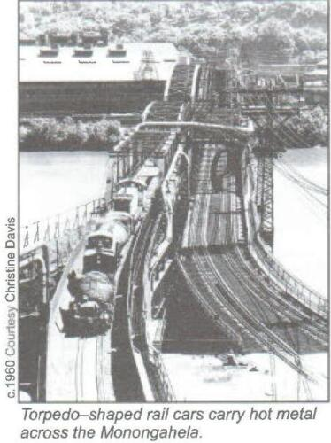 Hot Metal Bridge circa 1960