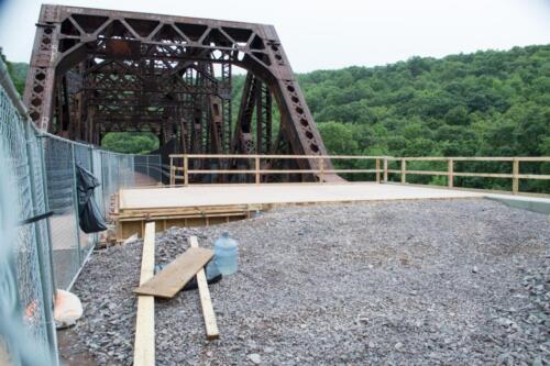 Keystone Viaduct Girder Lifting 2012