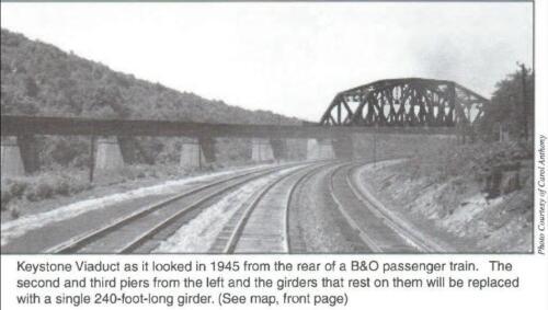 Keystone Viaduct 1945