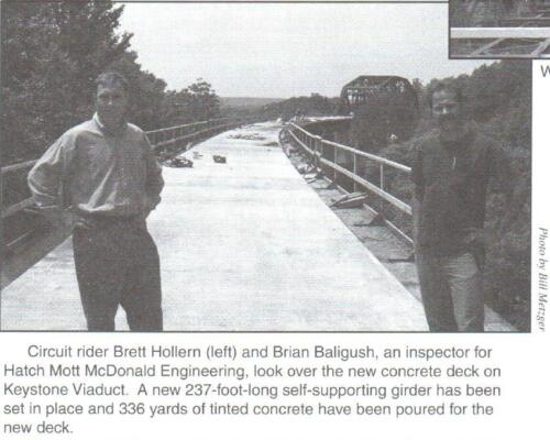 Keystone Viaduct Decking Brett Hollern, Brian Baligush