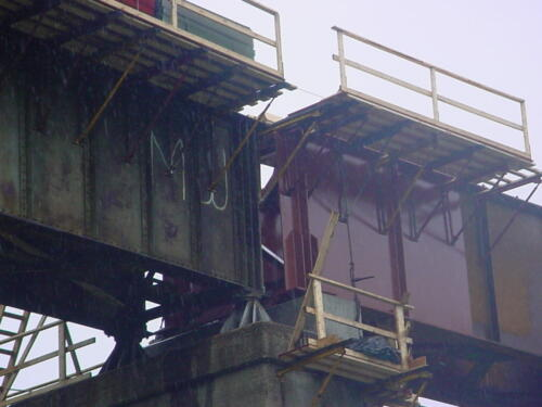 Keystone Viaduct Girder Placement- 014