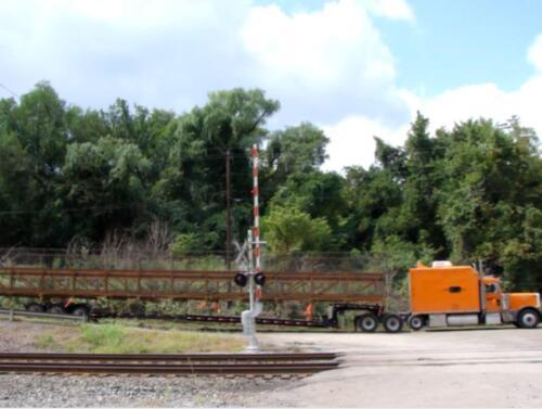Port Perry 001 truck w prefab bridge