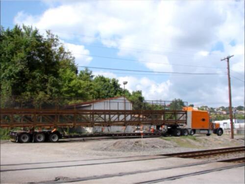 Port Perry 002 truck w prefab bridge