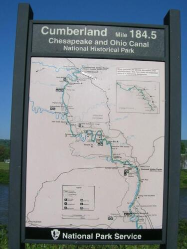 Start of the CO Canal Towpath, Cumberland 5-13-08